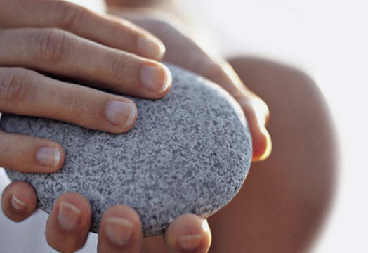 hands stone